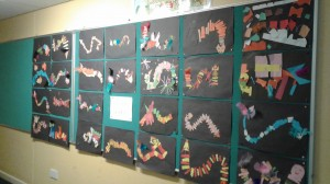 Mr. Heneghan's 4th Class Chinese Dragon's